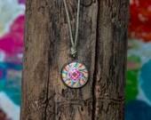 Mandala Art Pendant 16 mm...
