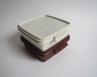 Vintage Tupperware containers, vintage plastic tupperware,vintage plastic storage