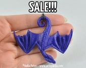 """SALE! - Discounted """"Seconds"""" Hanging Dragon Necklace - Variety of Colours In Stock and Ready to Ship"""