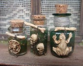 potion bottles - set of 3 - 12th scale