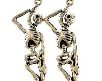 Skeleton jewelry   Etsy