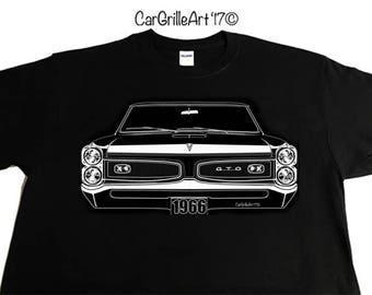 1966 Pontiac GTO SS T-Shirt