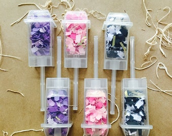 Fierce {Confetti Poppers} ~ set of 6