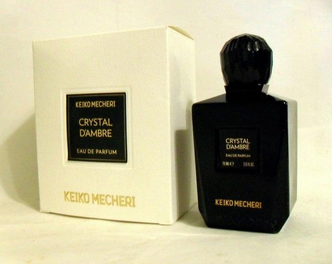Crystal d'Ambre by Keiko Mecheri 2.5 oz Eau de Parfum Spray and Box  Original Bottle NICHE PERFUME