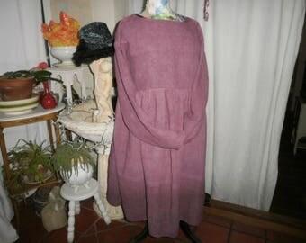 DRESS NATURALLY DYED HEMP