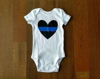 Policeman Onesie, Policeman Heart