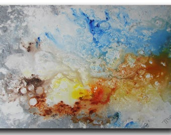 Abstract Painting, Seascape, Art Painting, Acrylic Painting, Wall art, modern art, Abstract art, Colorful Modern, Made to order
