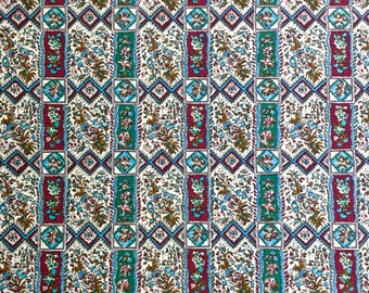 """1950's Fabric 2 yd and 16 """" long x 42"""" wide"""