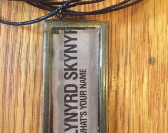 Lynyrd Skynyrd Pendant Necklace