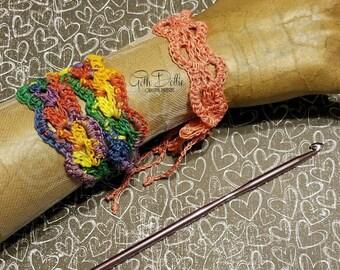 PDF/Ebook PATTERN: Filigree Crochet Bracelet, Choker or Wrap Bracelet by GothDollie