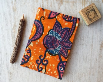 2018 daily Diary Planner Calendar Agenda A6 day-a-page African Print Vibrant Unique Original Hardback - Ankara Kitenge Wax Capulana Print