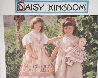 Simplicity 7029, Daisy Kingdom Girl's Dress Pattern