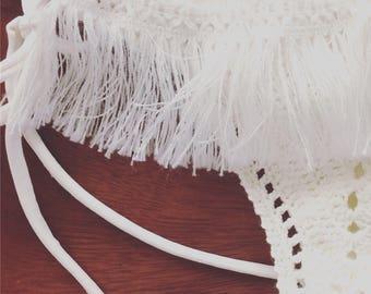 Crochet bottom bikini handmade swimwear