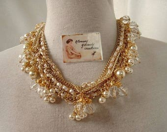 Necklace very chic couture fashion fashion trend