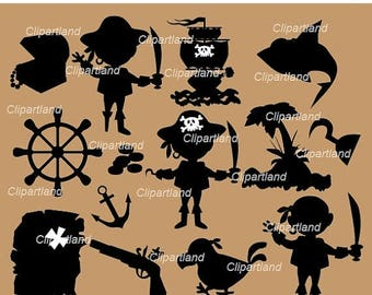 ON SALE INSTANT Download Pirates silhouettes