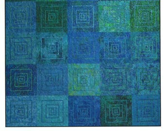 Ripple Quilt Pattern, Janine Burke, Design by jb,  DIY Quilt Pattern