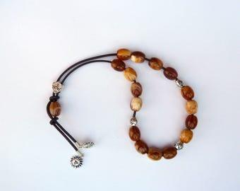 Bead Fidget Toy,Handmade worry beads,Greek komboloi,anti-stress toy