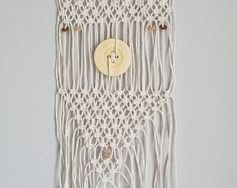 Wall hanging, wall, boho chic Macrame, Suspension, gift for women
