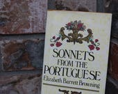Sonnets from the Portuguese by Elizabeth Barrett Browning, Love Poetry, How Do I Love Thee, Sonnets, Valentine's Gift, Classic Poetry, Poems
