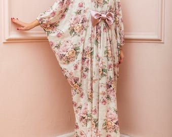 SALE ON 20 % OFF Floral Maxi Dress, Long Maxi Dress, Bow Maxi Dress, Bow Dress, Floral  Dress, Summer Dress, Plus Size Dress, Plus Size Maxi