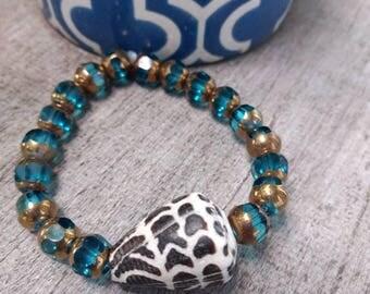 Hawaiian Hebrew Cone Shell Bracelet