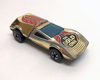 Vintage Original Hot Wheels Buzz Off Redline Gold One 1969 Hong Kong
