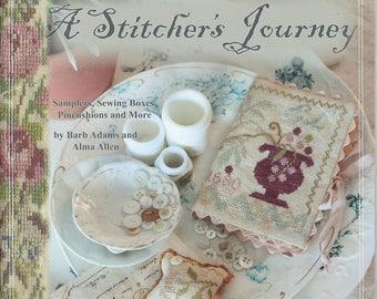 A Stitcher's Journey by Blackbird Designs - OOP Cross Stitch Pattern Book