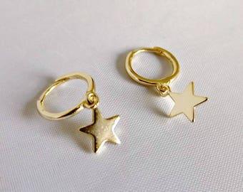 Hoop earrings, silver hoop earrings, boho earrings, tiny hoop earrings, silver hoop earrings, gold earrings, earrings, silver hoops