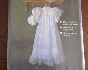 Christeming Gown & Bonnet Pattern