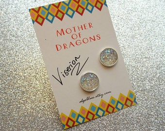 Viserion earrings - mother of dragons Daenerys Targaryen Game of Thrones