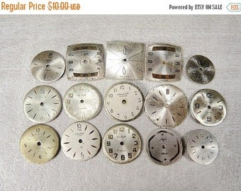 ON SALE Small Watch Faces - set of 16 - c128