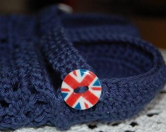 """Crocs shoes """"I English"""" 12-18 months - 100% cotton"""