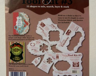 Card Making Templates (NEW) Paper Crafts Design Tool Kit #3 Hot Off the Press for Scrapbooking and other Paper Crafts