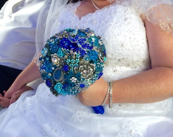 DEPOSIT | Custom Brooch Bouquet | Keepsake Bridal Bouquet | Alternative Wedding Bouquet | Jeweled Bouquet