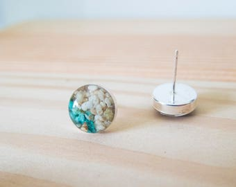 Surf and Sand Sterling Earrings
