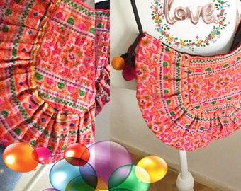 Embroidered bag boho