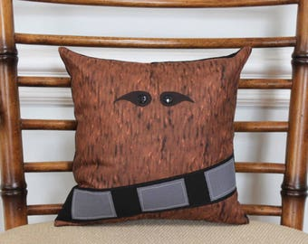 Star Wars Inspired Chewbacca Decorative Pillow