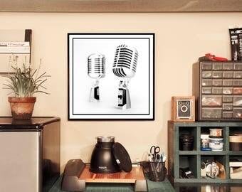 Shure 55SH Microphone Photograph