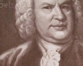 On Sale German Sheet Music Book BACH Johann Sebastian Bach His Greatest Piano Solos 1971 Bach Music Book Piano Music Book