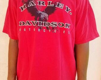 """Vintage """"Harley-Davidson"""" T-shirt - 90's."""