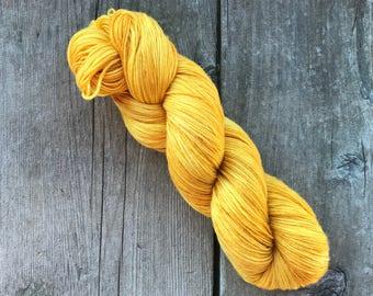 Hand-dyed Yarn - Honeycomb Colorway - Hand-painted Yarn - Merino Wool Yarn - Indie-dyed Yarn