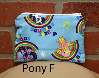 One Snack Sack, Reusable Lunch Bags, Waste-Free Lunch, Machine Washable, My Little Pony, Back to School, School Lunch, item #SS63
