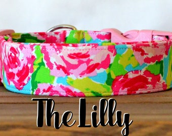 """Hot Pink, Turquoise & Lime Vintage Floral """"The Lilly"""""""