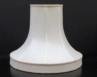 Pair of Victorian bell lampshades with gallery