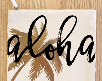 Palm Tree Clutches (3 choices)