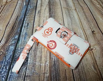 BB8 Inspired Star Wars Pearl Wallet