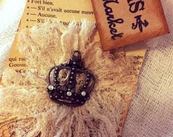 1 Shabby Chic Lace, Lace Shabby Chic Tag, Handmade Tag, Gift Tag, Vintage Style Tag, Parisian Tag, French Gift Tag, Paris Flea Market