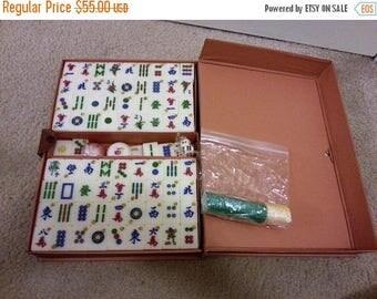 Case of 148 Mah Jong Tiles - Plastic or Acrylic Material
