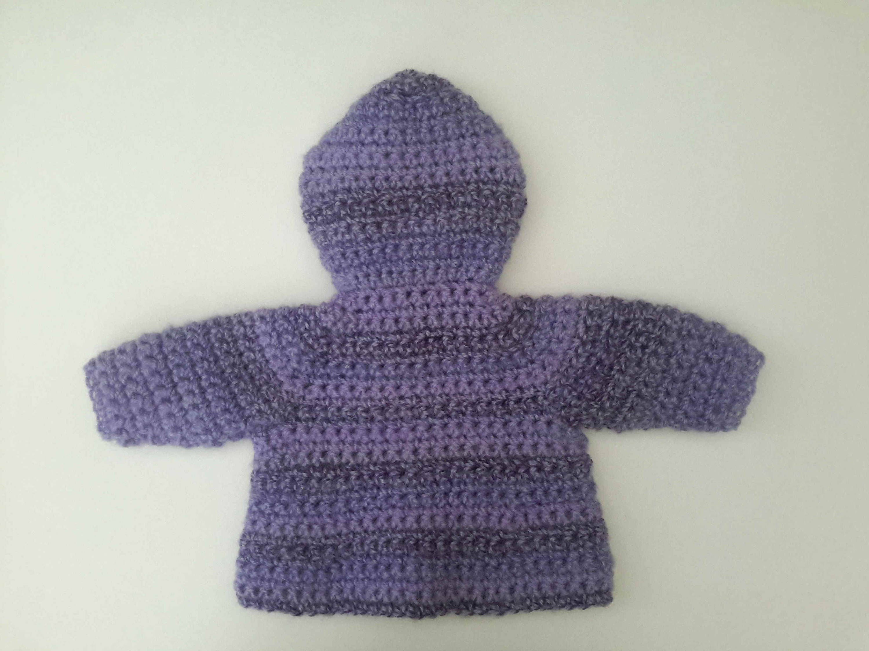 Luxury mohair wool baby girl hooded coat, purple pink baby jacket ...