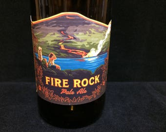 Fire Rock Pale Ale scented candle - made to order